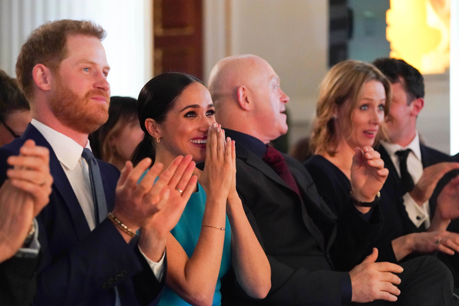 Harry y Meghan premios Endeavour