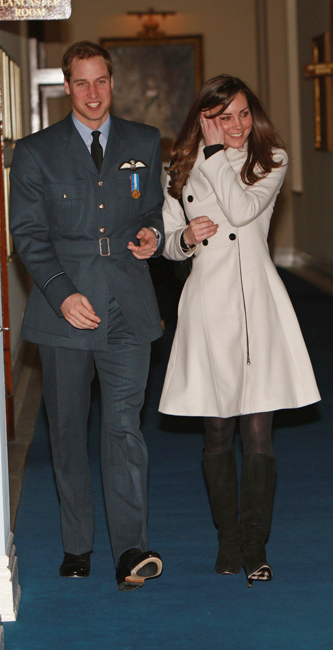 Kate Middleton abrigo 2008