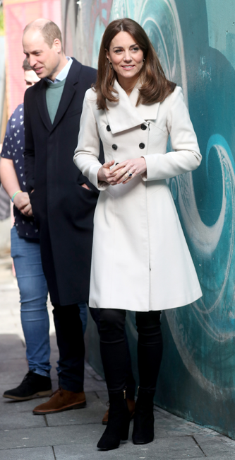 Kate Middleton abrigo 13 años