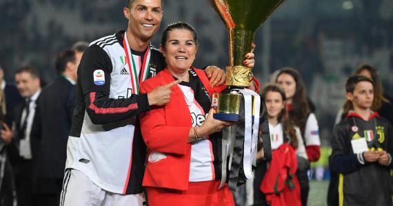 Madre Ronaldo derrame cerebral