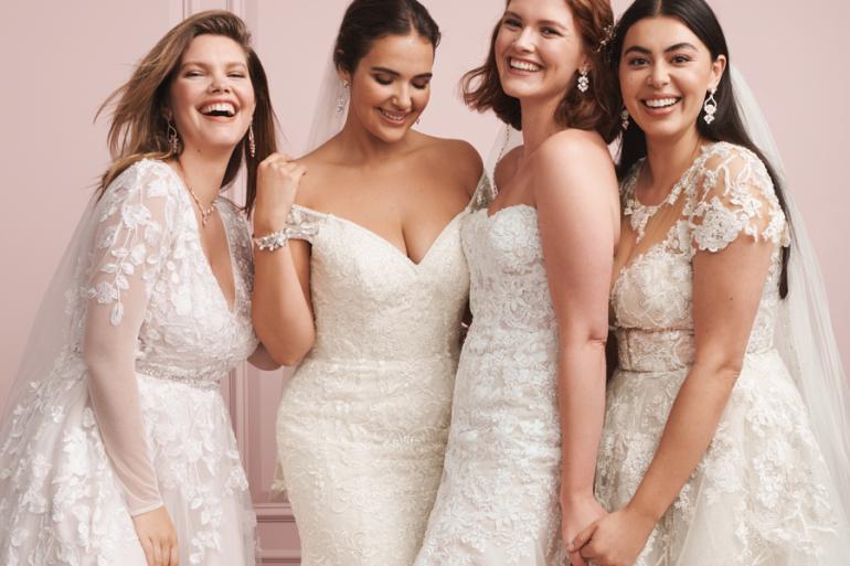 heroínas David's Bridal