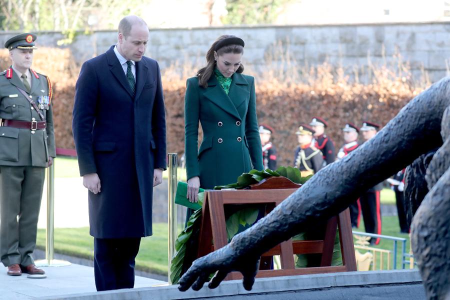 Duques Cambridge visitan Irlanda