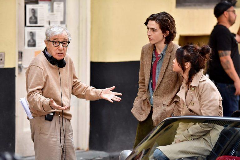 Woody Allen Timothée Chalamet