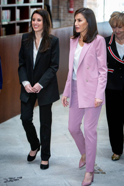 Irene Montero y reina Letizia