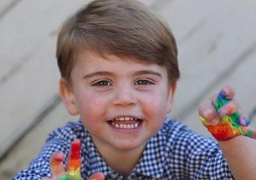 Los dos años del príncipe Louis