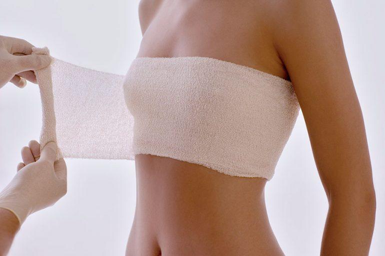 Cirugía plástica, senos