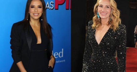Eva Longoria y Julia Roberts unen fuerzas en un nuevo evento solidario