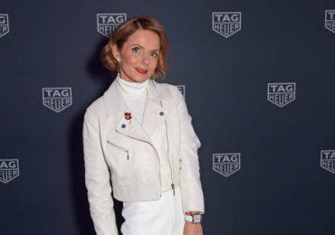 Geri Horner alaba a Isabel II por sus 'coloridos' estilismos