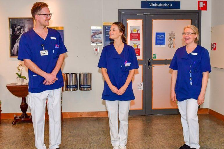 La princesa Sofía de Suecia se une al combate contra el coronavirus