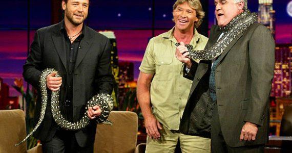 Russell Crowe Steve Irwin