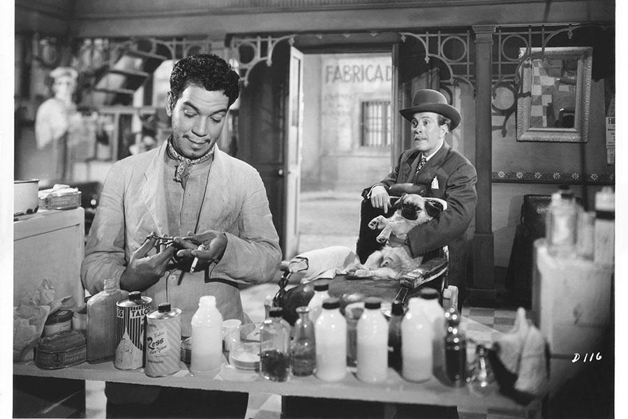 """Escena de """"Si Yo Fuera Diputado"""" con Cantinflas."""