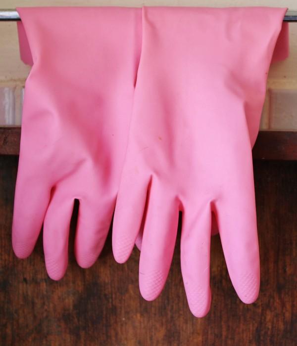 guantes hule