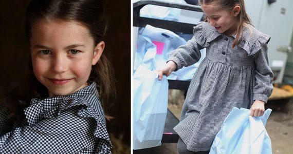 La princesa Charlotte cumple 5 años y reparte comida