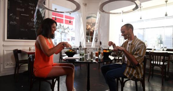 Campanas transparentes: el futuro de los restaurantes en tiempos de coronavirus