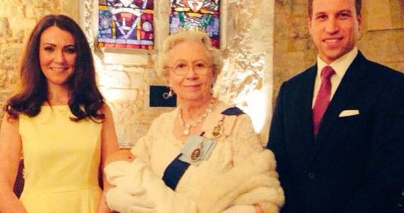 dobles familia real británica