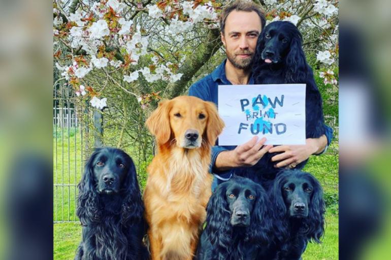 James Middleton pone en marcha un nuevo negocio inspirado en sus perros