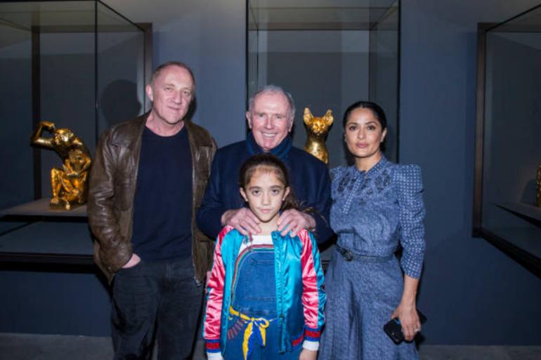 La hija de Salma Hayek es la sexta niña más rica del mundo