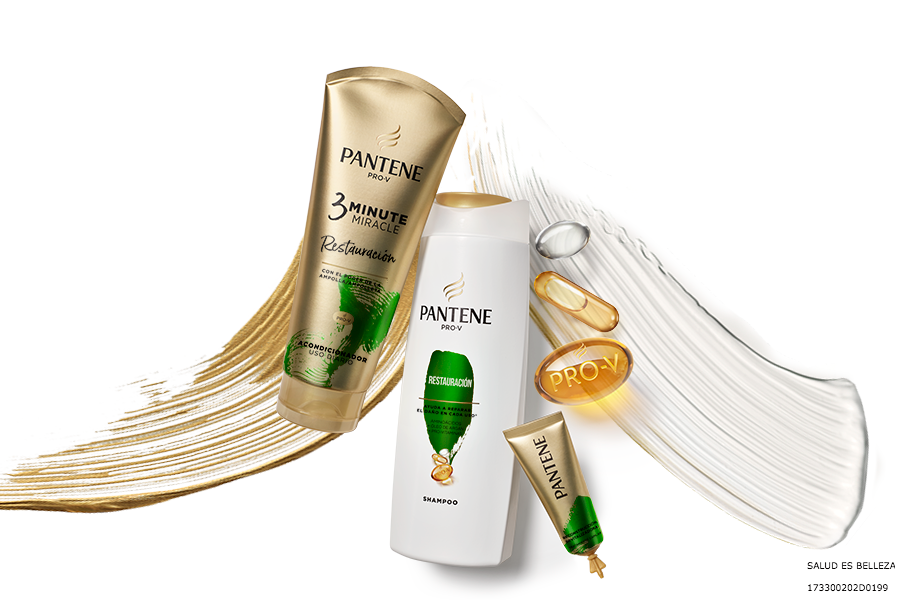 Pantene crema shampoo y vitaminas