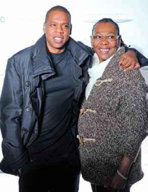 Jay-Z y su madre Gloria Carter