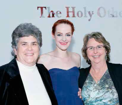 Jena Malone y sus dos madres