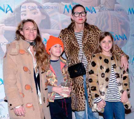 Jenna Lyons con su pareja e hijos