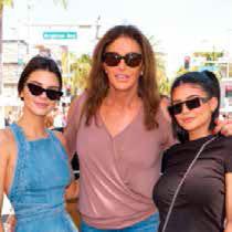 Caitlyn Jenner con sus hijas