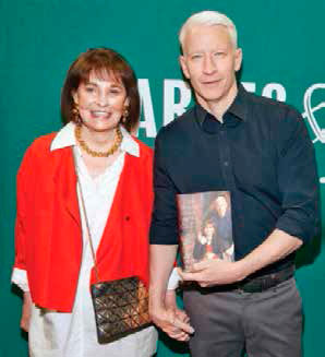 Gloria Vanderbilt y Anderson Cooper