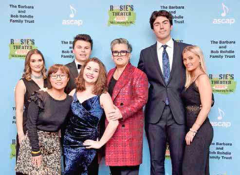 Rosie O'Donnell y sus hijos
