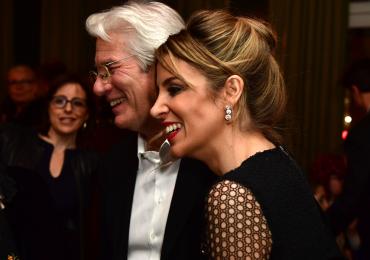 Richard Gere y su esposa celebran dos años de casados