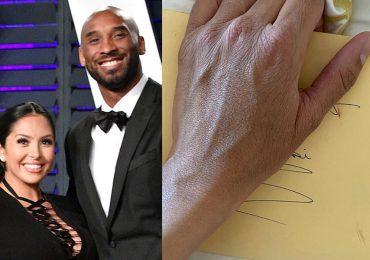Vanessa Bryant revela carta que le escribió Kobe antes de morir