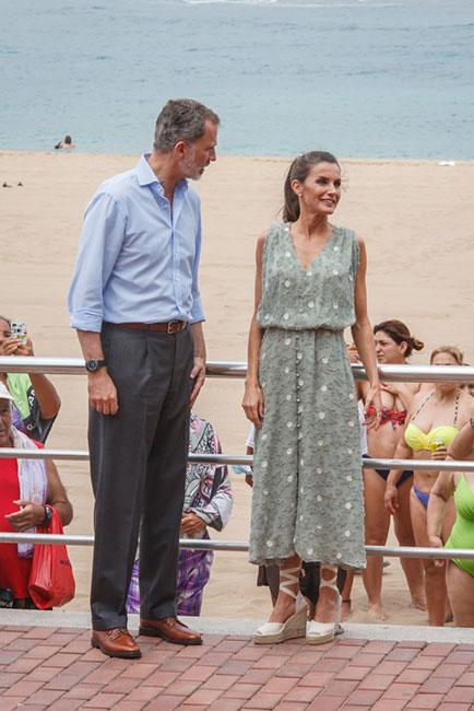 Felipe y Letizia en Las Palmas de Gran Canaria