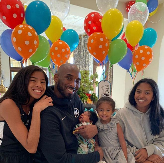 Felicitación a Kobe Bryant por el Día del Padre