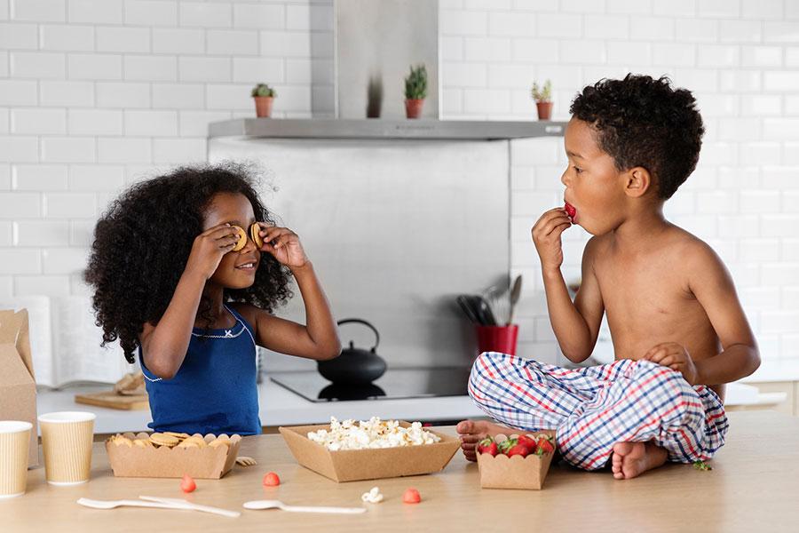 Snacks saludables para los niños