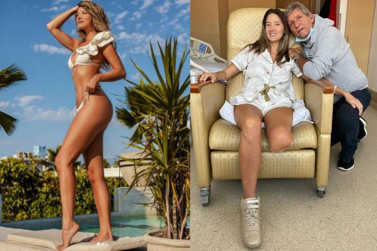 El mensaje de amor propio de la ex Miss Colombia, Daniela Álvarez, tras perder su pierna izquierda