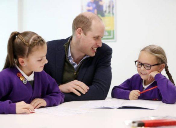 El talento del príncipe William para 'escuchar y reconfortar'