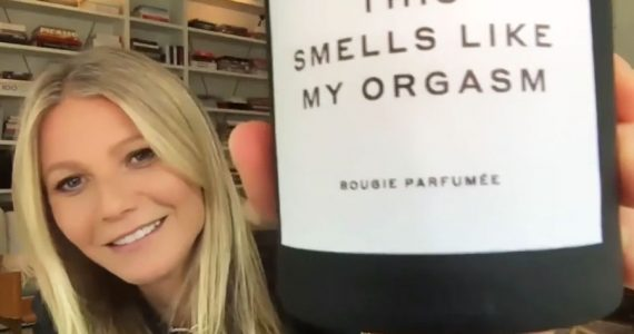 Gwyneth Paltrow pone a la venta una vela que huele como sus orgasmos
