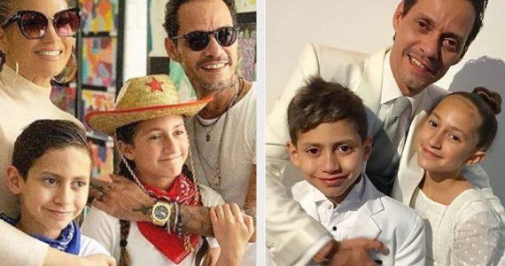 Jennifer Lopez felicita a Marc Anthony por el día del padre