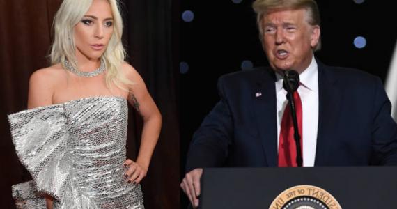 La fuerte declaración de Lady Gaga contra Donald Trump