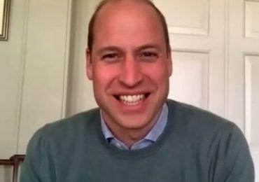 La videollamada más especial del príncipe William
