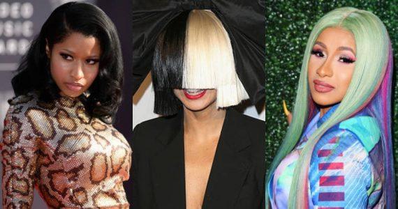 Sia se disculpa por confundir a Nicki Minaj con Cardi B