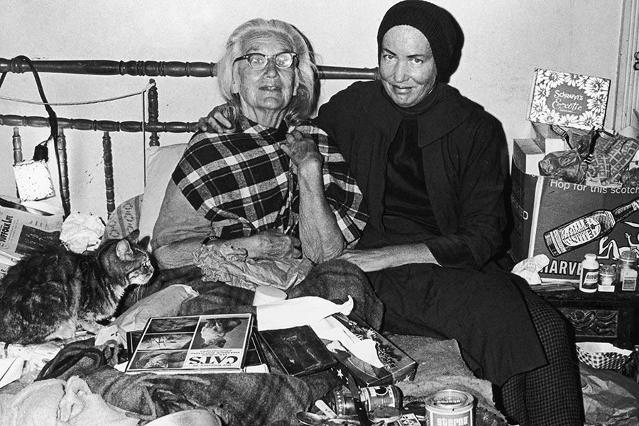 Big Edie y Little Edie en Grey Gardens