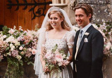 Boda de la princesa Beatriz y Edoardo.