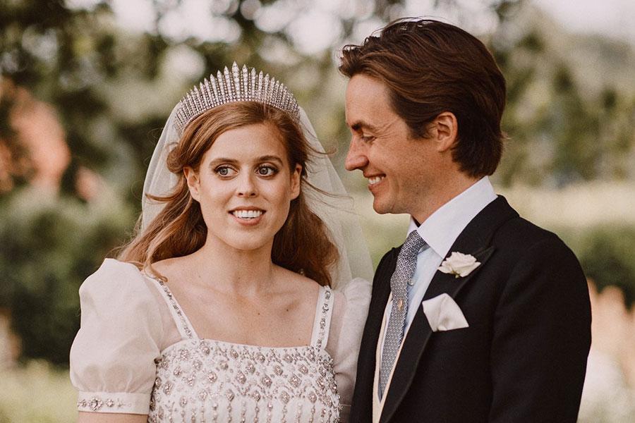 Boda de la princesa Beatriz y Edoardo Mapelli Mozzi