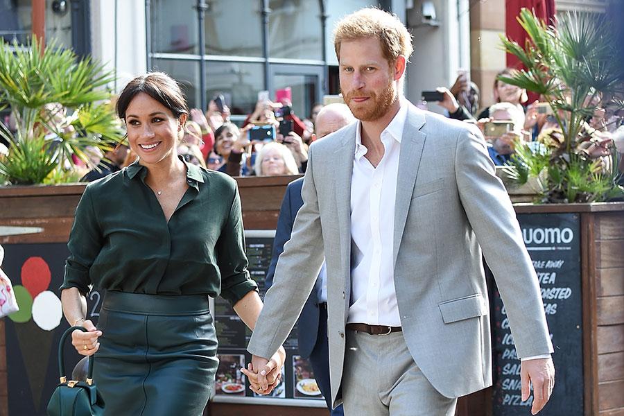 Meghan Markle y principe Harry