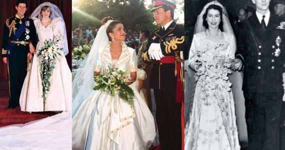9 vestidos de novia de la realeza que marcaron época