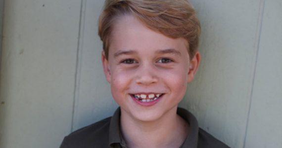 El príncipe George cumple 7 años