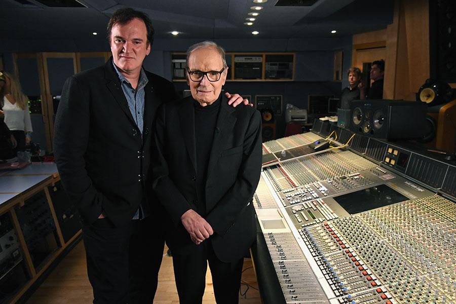 Quentin Tarantino y Quién fue Ennio Morricone