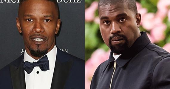 Jamie Foxx y Kanye West