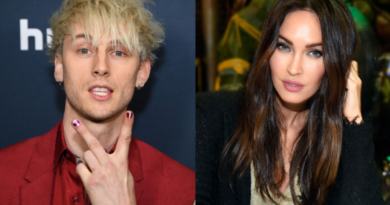 Machine Gun Kelly y Megan-Fox