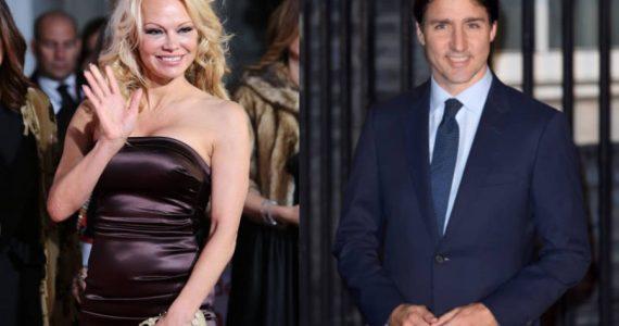 Pamela Anderson hace una interesante proposición al primer ministro Justin Trudeau